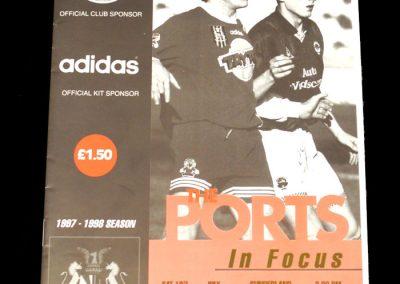 Middlesbrough v Portadown 28.07.1997 - Friendly