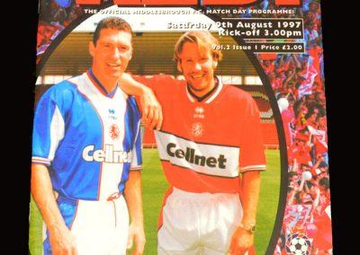Middlesbrough v Charlton 09.08.1997