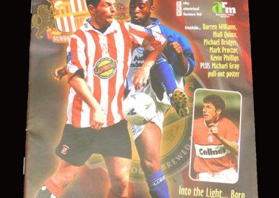 Middlesbrough v Sunderland 28.09.1997