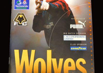 Middlesbrough v Wolves 01.11.1997