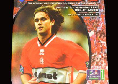 Middlesbrough v QPR 08.11.1997