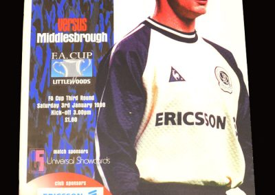 Middlesbrough v QPR 03.01.1998 - FA Cup 3rd Round