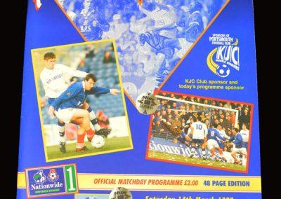 Middlesbrough v Portsmouth 14.03.1998