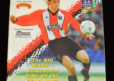 Middlesbrough v Sheff Utd 07.04.1998