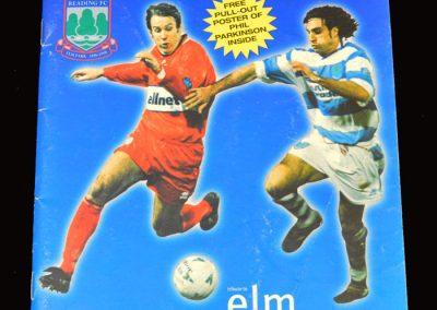 Middlesbrough v Reading 13.04.1998