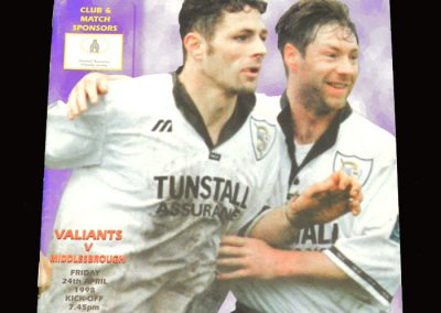 Middlesbrough v Port Vale 24.04.1998