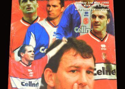 Middlesbrough v Oxford 03.05.1998