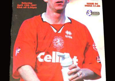 Middlesbrough v Sunderland 19.04.1997