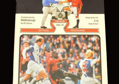 Middlesbrough v Man Utd 05.05.1997