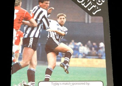 Wolves v Notts County 25.08.1987 - League Cup 1st Round 2nd Leg