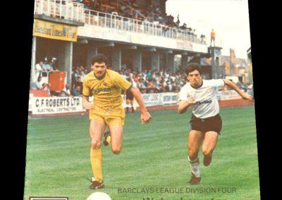 Wolves v Hereford 29.08.1987