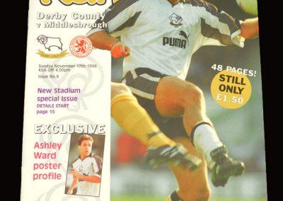 Middlesbrough v Derby 17.11.1996