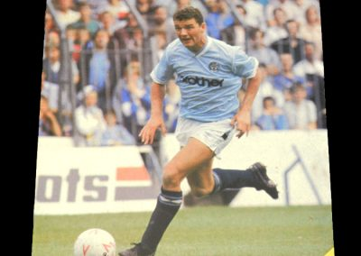 Wolves v Man City 22.09.1987 - League Cup 2nd Round 1st Leg