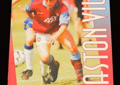 Middlesbrough v Aston Villa 30.11.1996