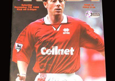 Middlesbrough v Leeds 07.12.1996