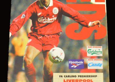 Middlesbrough v Liverpool 14.12.1996