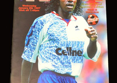 Middlesbrough v Liverpool 08.01.1997 - League Cup 5th Round