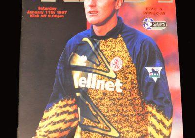 Middlesbrough v Southampton 11.01.1997
