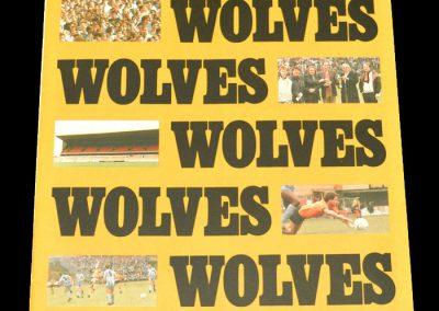 Wolves v Burnley 07.11.1987