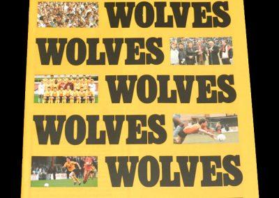 Wolves v Cheltenham 14.11.1987 - FA Cup 1st Round