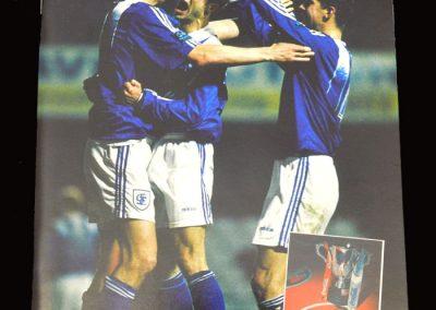 Middlesbrough v Stockport 26.02.1997 - League Cup Semi Final 1st Leg