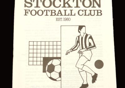 Middlesbrough v Stockton 11.03.1997 - postponed and never played