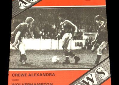 Wolves v Crewe Alexandra 02.01.1988