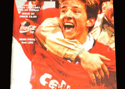 Middlesbrough v Stockport 12.03.1997 - League Cup Semi Final 2nd Leg
