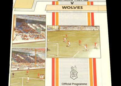 Wolves v Bradford City 09.01.1988 - FA Cup 3rd Round