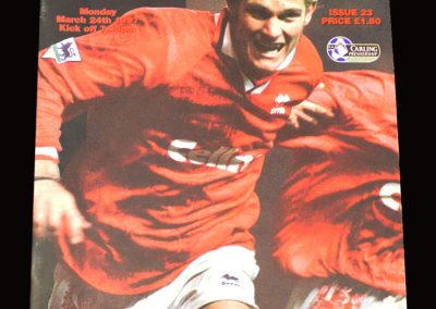 Middlesbrough v Notts Forest 24.03.1997