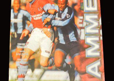Middlesbrough v West Ham 09.04.1997