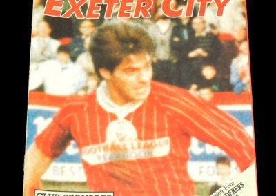 Wolves v Exeter City 13.02.1988