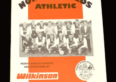 Middlesbrough v North Shields 19.07.1996 - Friendly
