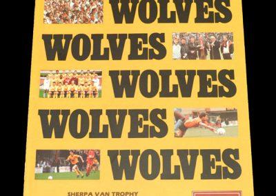 Wolves v Torquay 08.03.1988 - FA Trophy Southern Semi Final
