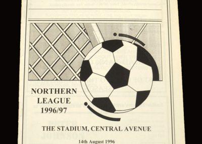 Middlesbrough v Billingham Synthonia 14.08.1996 - Friendly