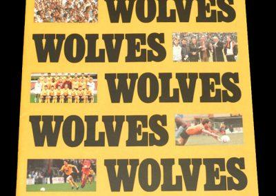 Wolves v Darlington 26.03.1988