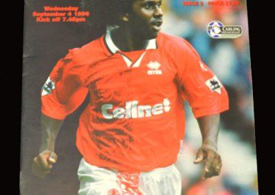 Middlesbrough v West Ham 04.09.1996