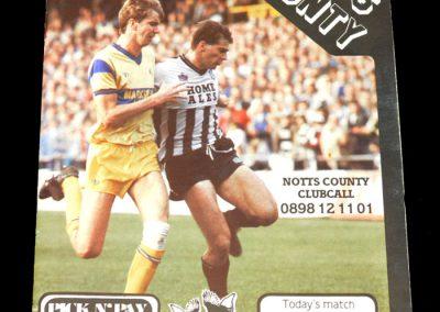 Wolves v Notts County 12.04.1988 - FA Trophy South Final 1st Leg