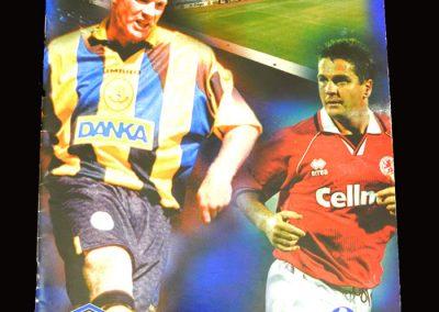 Middlesbrough v Everton 14.09.1996
