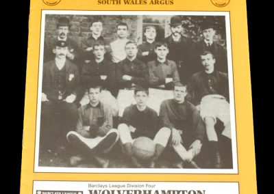 Wolves v Newport 26.04.1988