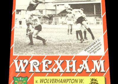 Wolves v Wrexham 30.04.1988
