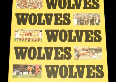 Wolves v Hartlepool 02.05.1988