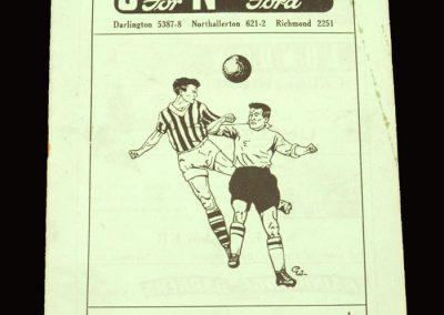 Darlington v Aldershot 24.08.1959