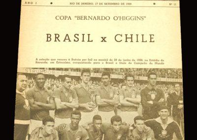 Brasil v Chile 17.09.1959 (Pele)