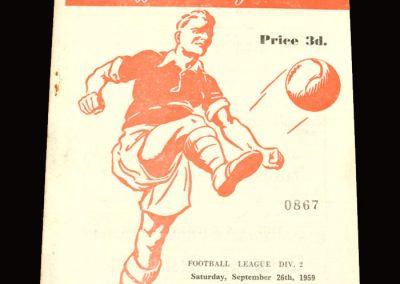 Rotherham v Hull 26.09.1959