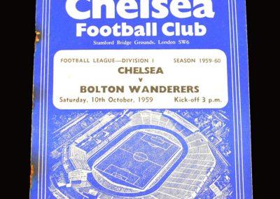 Chelsea v Bolton 10.10.1959