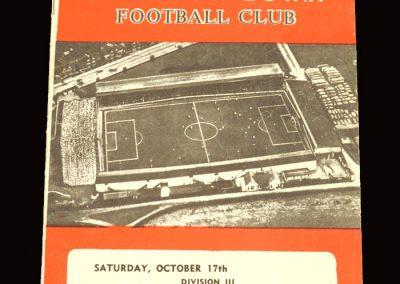 Swindon v Reading 17.10.1959