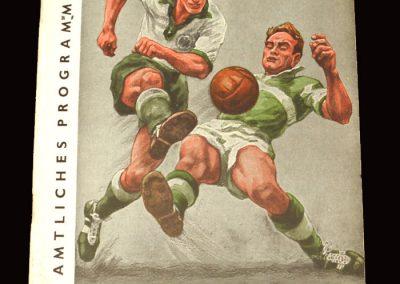 Germany v Holland 21.10.1959