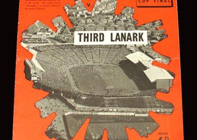 Hearts v Third Lanark 24.10.1959 - Scottish League Cup Final