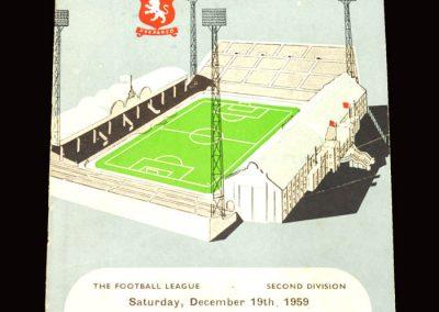 Aston Villa v Brighton 19.12.1959